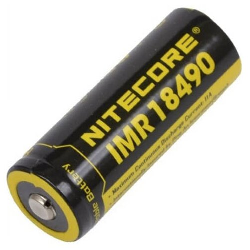 Фото - Аккумулятор 18490 - Nitecore IMR18490 Li-Ion 1100mAh 12065 аккумулятор nitecore nl1665r