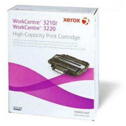 Фото - Картридж лазерный Xerox 106R01487 черный 4100стр. для Xerox WC 32103220 картридж лазерный xerox 106r03745 черный