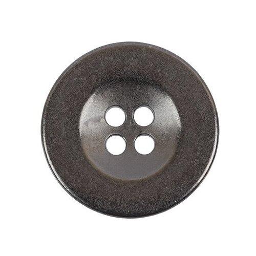Пуговицы металлические Gamma 20 мм, 24 шт, №06, черный никель (MB 0209)