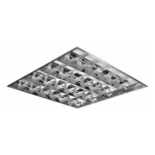 Светильник люминесцентный армстронг, ксенон, 4 люминесцентные лампы х 18 Вт, ЭПРА, зеркальный растровый, 0140418112-31