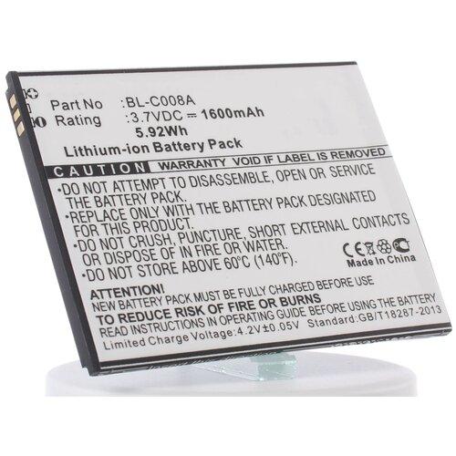 Аккумуляторная батарея iBatt 1600mAh для BL-C008A