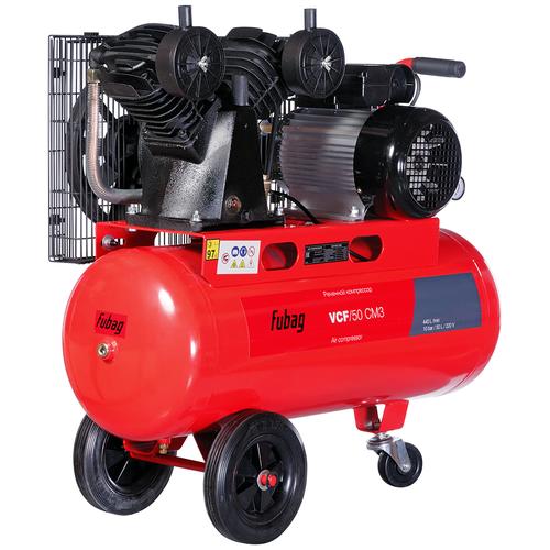 Компрессор масляный Fubag VCF/50 CM3, 50 л, 2.2 кВт компрессор fubag vcf 100 сm3 440л мин 100л 10бар 2 2квт 220в