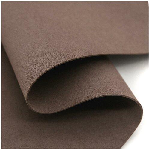 Фоамиран EVA-1010, 10 шт, 20х30 см, 1 мм., Astra&Craft (BK028 коричневый)