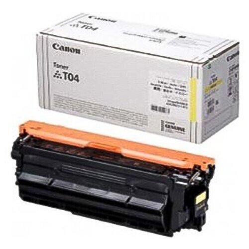 Фото - Тонер-картридж Canon T04 Y (2977C001) тонер картридж canon t04 b 2980c001