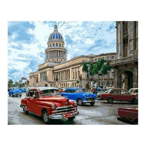 Купить Картина по номерам на холсте Paintboy Ретро автомобили , 40х50 см, GX-33163, Картины по номерам и контурам