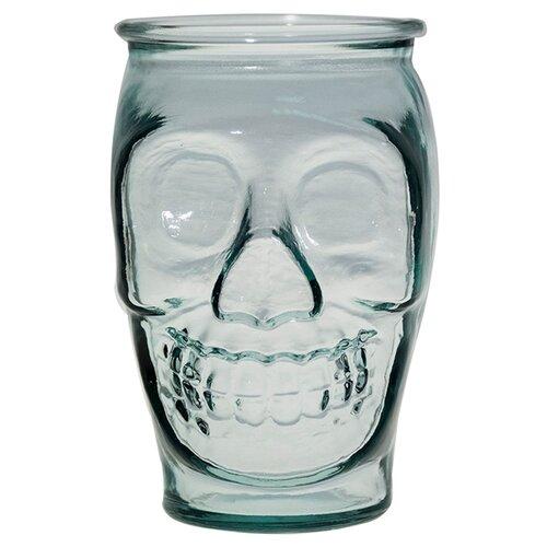 стакан для коктейлей tiki череп 350 мл San Miguel Стакан для коктейлей Череп, 450 мл прозрачный