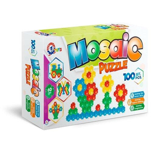 Мозаика пазлы для малышей 100 элементов коврик пчёлка технок / мозаика для детей / картины из мозаики / пиксельная мозаика / пазлы для детей / пазлы для малышей / пазл для малышей / пазлы для детей 5 лет / коврик