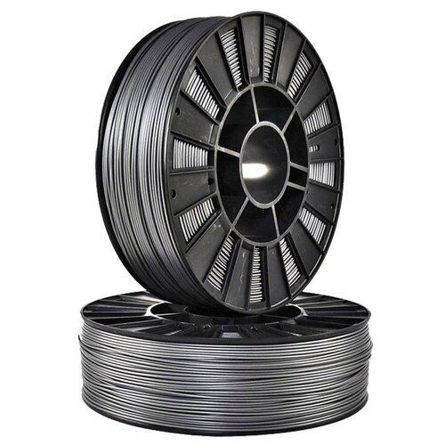 Пластик для 3д принтера SEM PLA серебристый 1.75 мм
