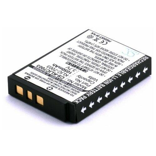 Фото - Аккумулятор для фотоаппарата GE GB40, Kodak KLIC-7003 головной убор ge mo gmol g