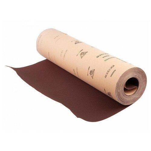 Шкурка шлифовальная 775мм №10 (10-Н, P120) наждачка водостойкая на ткани 1 п.м.