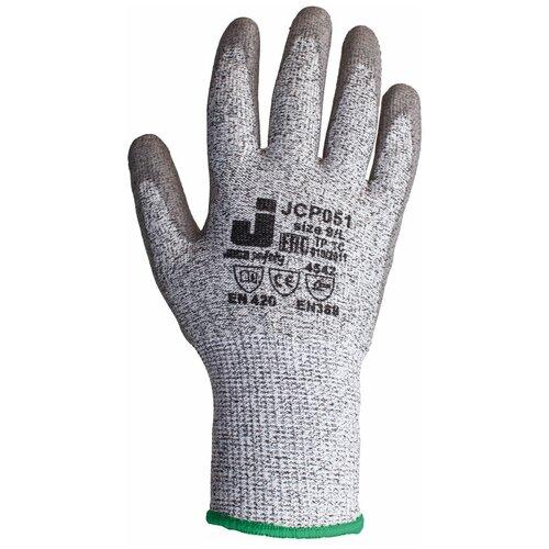 Перчатки Jeta Safety промышленные защитные серые от порезов (5 класс) JCP051, размер 10/XL