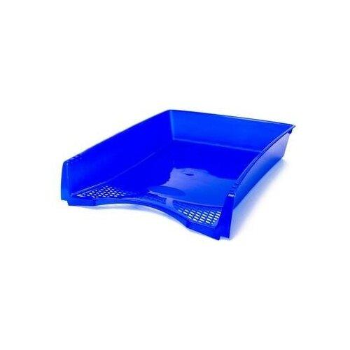 Купить Лоток для бумаг горизонтальный Attache Офис Класс синий 2 шт., Лотки для бумаги