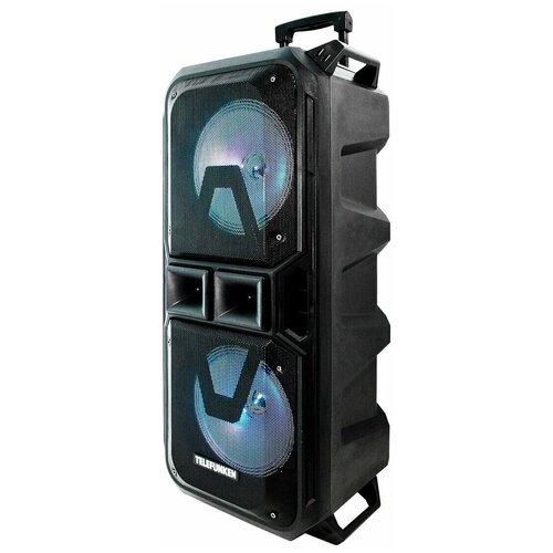Музыкальный центр Telefunken PS2307, black