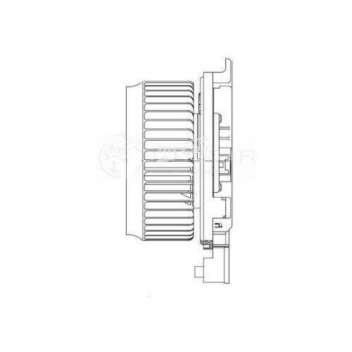 LUZAR LFH1910 Электродвигатель вентилятора салона