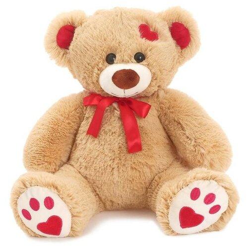 Мягкая игрушка «Медведь Кельвин» кофейный, 50 см