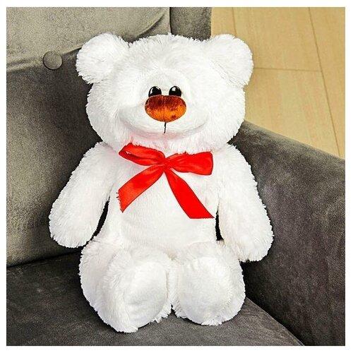 Мягкая игрушка «Медведь Брэд», цвет белый, 44 см