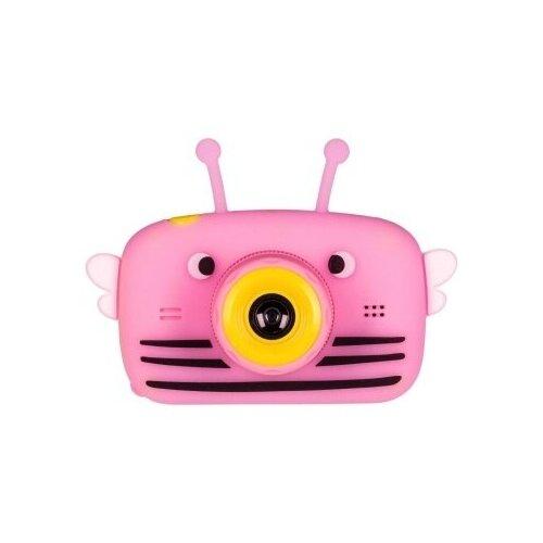 Фото - Детский цифровой фотоаппарат Пчелка Розовый / Kids Camera детский цифровой фотоаппарат собачка розовый kids camera pink