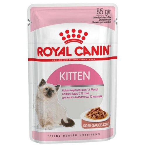 Kitten Instinctive влажный корм для котят от 4 до 12 месяцев в соусе, 85 г
