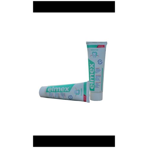 Фото - Elmex Sensitive- зубная паста для чувствительных зубов зубная паста для чувствительных зубов colgate sensitive pro relief восстановление и контроль зубная 75мл