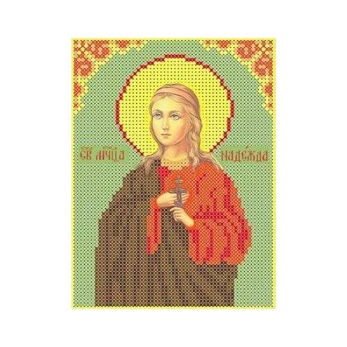 Набор Святая Надежда бисер 12,8х16,9 Каролинка кбин(Ч) 5017 12,8х16,9 Каролинка кбин(Ч) 5017)