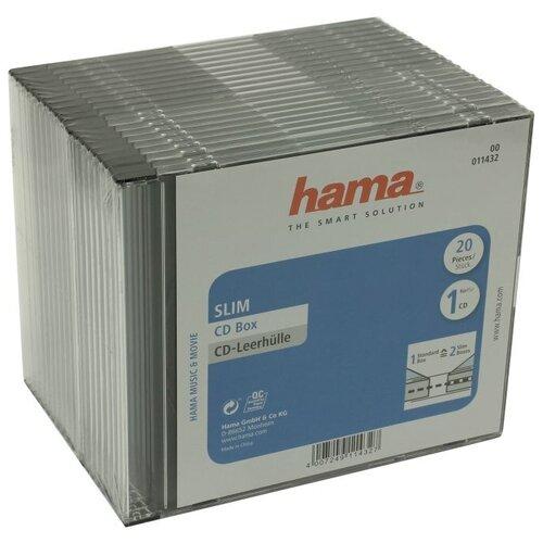 Фото - CD-бокс Hama Slim CD Box cd