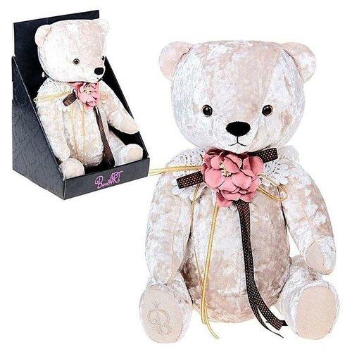 Мягкая игрушка «Медведь БернАрт», цвет белый