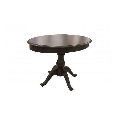 Стол обеденный Фабрицио Эллипс (1100*750) тон 4 коньяк/Стол кухонный раздвижной/Стол классический