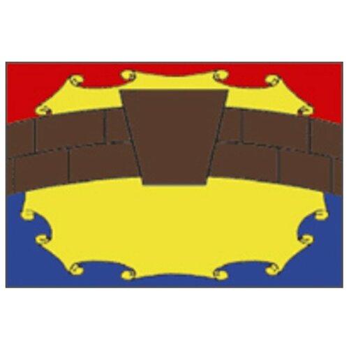 Флаг Петровского района (Ставропольский край)