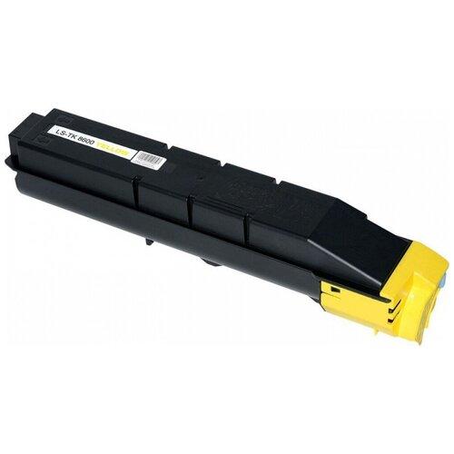Фото - Картридж лазерный Kyocera TK-8600Y 1T02MNANL0 желтый для Kyocera FS-C8600DNC8650DN картридж лазерный kyocera tk 160