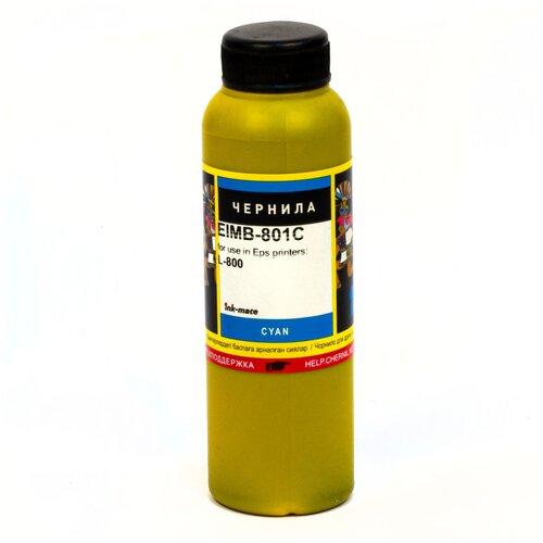 Чернила ink-mate EIM-801C для EPSON T6732 L800/L805/L850/L1800 (100мл, cyan, Dye)