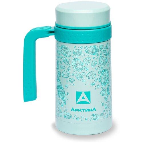 Термокружка для напитков Арктика 412-500 0.5л. бирюзовый картонная коробка 412-500TURQ