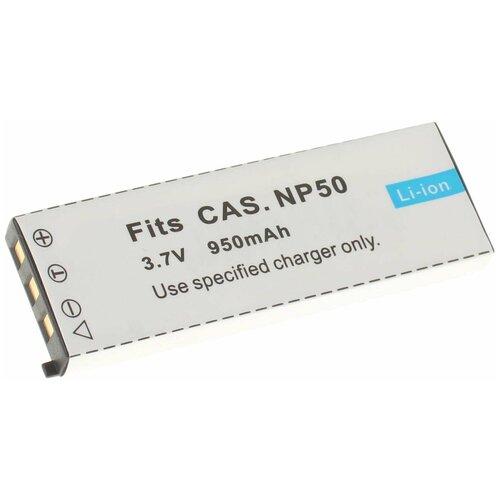 Фото - Аккумулятор iBatt iB-B1-F142 950mAh для Casio NP-50 Casio, аккумулятор для фотоаппарата casio np 60