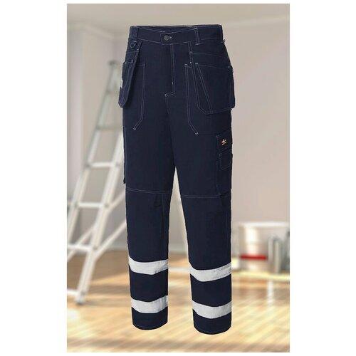брюки мастер темно синий размер 56 58 рост 170 176 Брюки Union Space (юнионспейс) темно-синий, 56-58/170-176