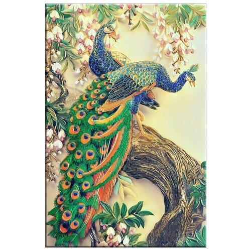 Фото - Картина «Золотой Трон Павлина» 70x100см. (плекси арт) Графис марина лазарева золотой трон
