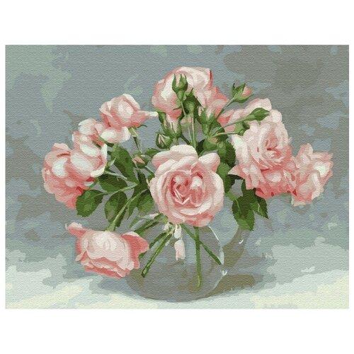 Фото - Картина по номерам с цветной схемой на холсте Molly Бузин. Розовая симфония 30х40 (20 цветов) картина по номерам с цветной схемой на холсте 30х40 кот рокер 19 цветов kk0610