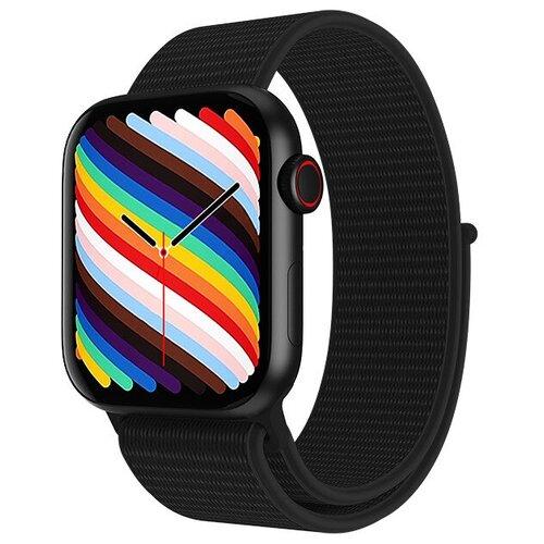 Умные часы IWO HW19 Series 6, два ремешка, 44мм, черные