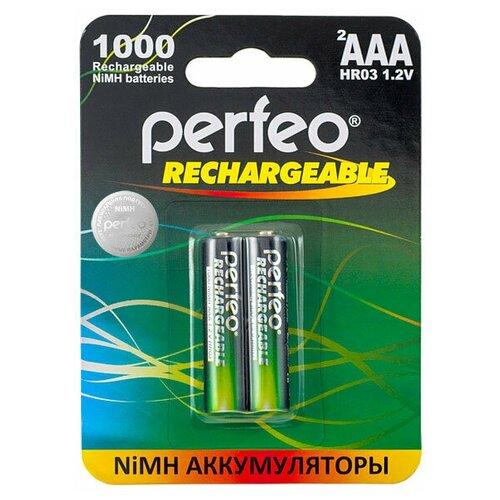 Фото - Аккумулятор Perfeo AAA1000mAh/2шт аккумулятор perfeo aa2500mah 2шт