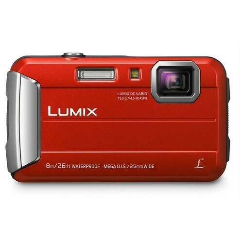 Фотоаппарат Panasonic Lumix DMC-FT30 красный
