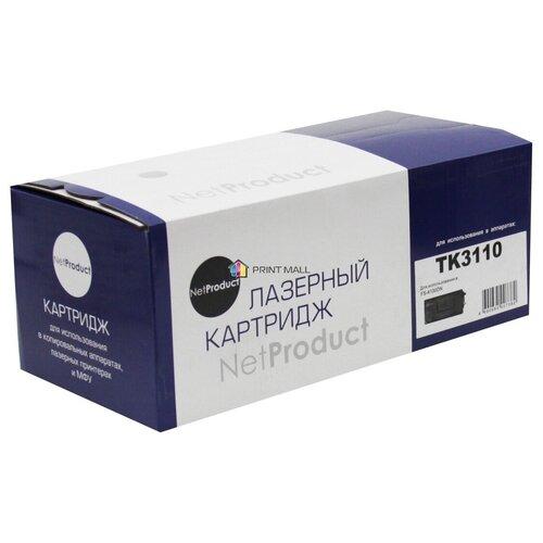 Картридж NetProduct для Kyocera Mita FS-4100DN (15500 стр.) TK-3110 с чипом