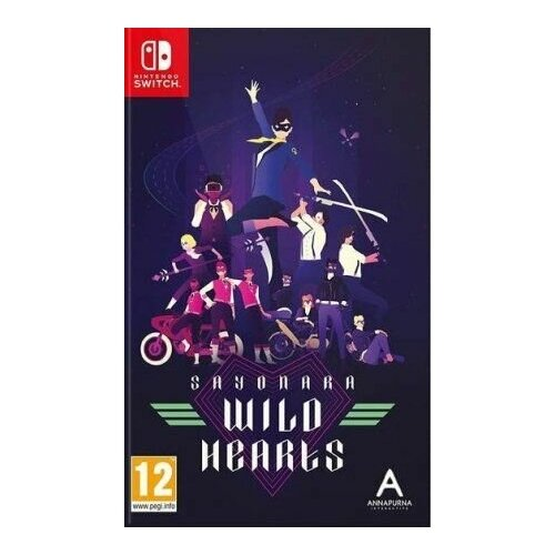 Sayonara Wild Hearts [Nintendo Switch, русские субтитры]