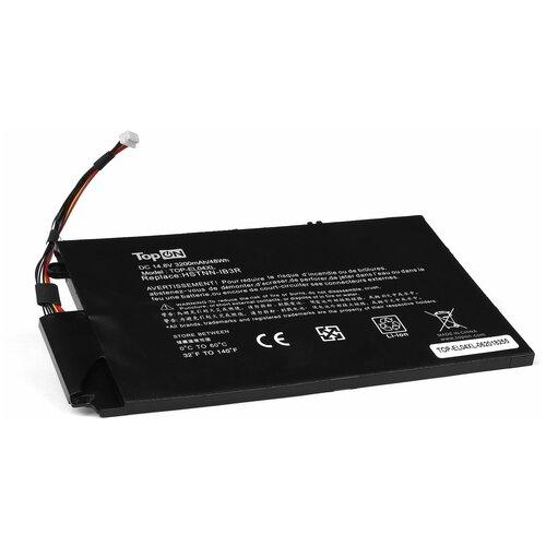 Аккумуляторная батарея для ноутбука HP TouchSmart 4, Envy 1000, 4-1000 Series. 14.8V 3200mAh 48Wh. HSTNN-UB3R, EL04XL, TPN-C102, 681879-121. TopON