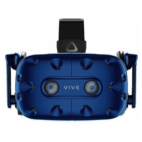 Шлем виртуальной реальности HTC Vive Pro HMD, синий