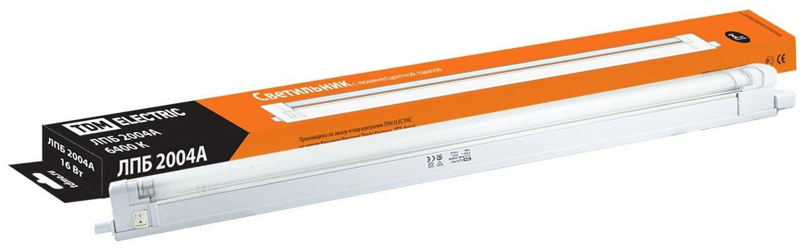 Линейные люминесцентные светильники TDM Светильник ЛПБ2004А 16 Вт 230В Т4/G5 6400К TDM SQ0305-0119 — купить по выгодной цене на Яндекс.Маркете