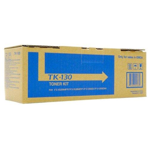 Фото - Лазерный картридж Kyocera 1T02HS0EUC (TK-130) Black картридж лазерный kyocera tk 160
