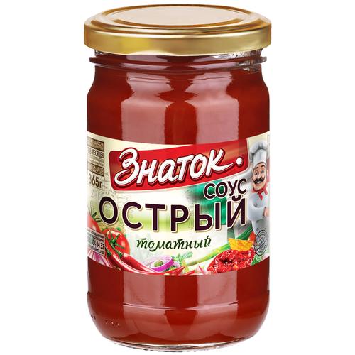Соус Острый Знаток -0,360 кг)