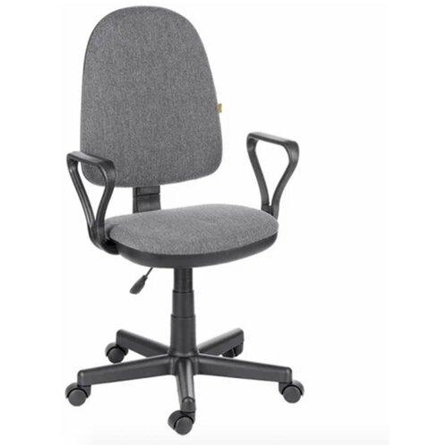 Офисное кресло OLSS Престиж, ткань/серый