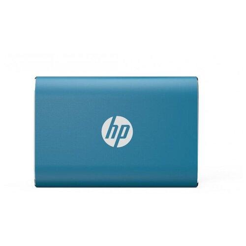 Фото - Портативный SSD HP P500 1Tb, USB 3.1 G2 Type-C, син, 1F5P6AAABB внешний ssd hp p500 500gb 7pd54aa 500 gb синий
