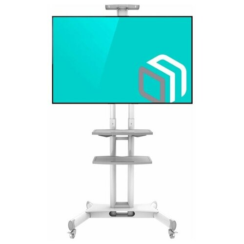 Фото - Мобильная стойка для ТВ с кронштейном 32-65 ONKRON TS1552 белая мобильная стойка под телевизор onkron ts1551 красная