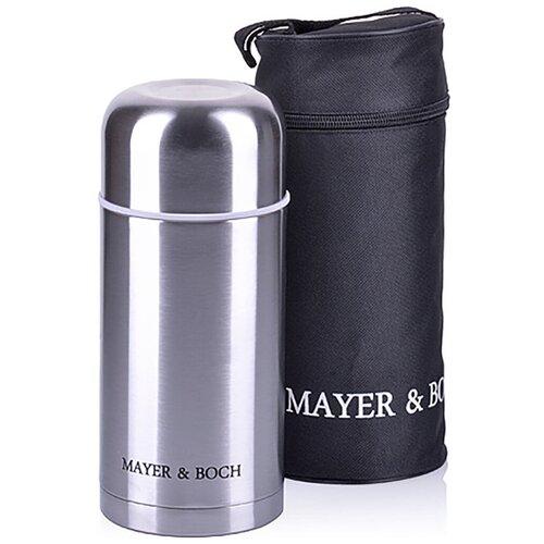 Термос / Термокружка / Нержавеющая сталь / Металлическая колба / Чехол-сумка в комплекте / 800 мл