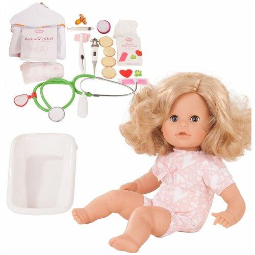 Gotz GOTZ Коллекционная кукла Готц (Gotz) Аквини - Стань доктором (33 см)